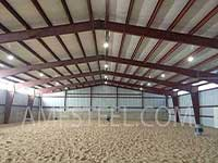 Indoor riding arenas